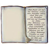 129 Buch Mit Spruch Zur Porzellanhochzeit Decoramic