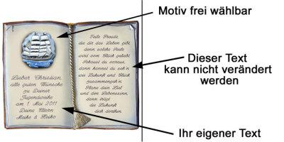 129 Buch Mit Spruch Zur Jugendweihe