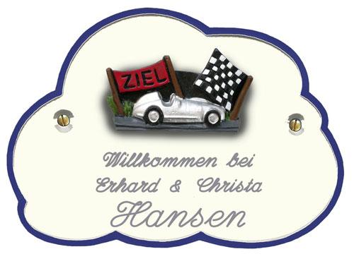 Prüfung-Ziel-Rennwagen-Rennauto-Porsche