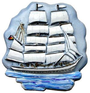 Windjammer-Fernweh-Schulschiff-Großsegler